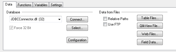 JDBC Connector
